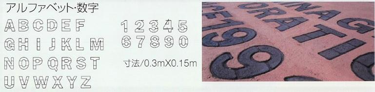 アルファベット・数字
